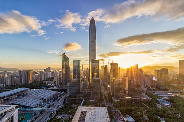 Shenzhen skyline | iStock: bingfengwu