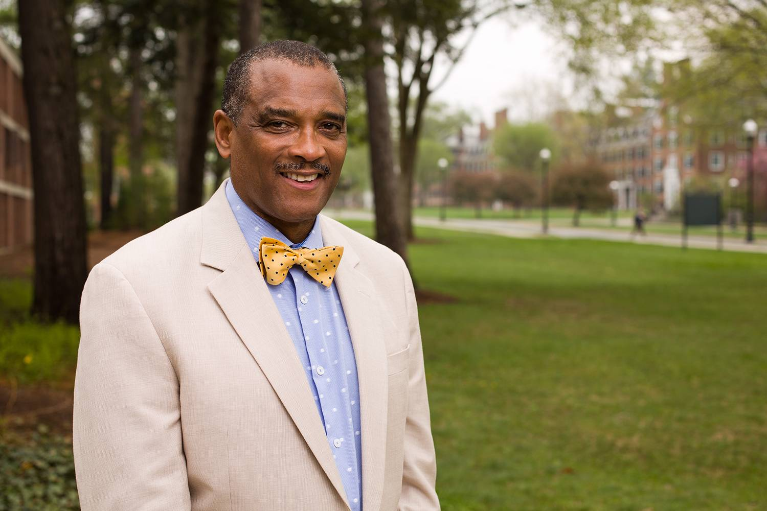 Frederick McKinney, managing director of Tuck minority business programs