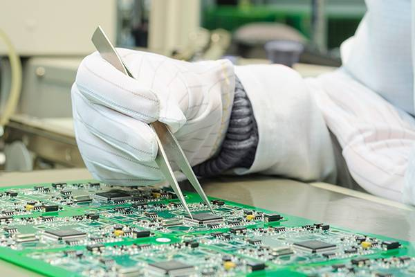 Factory making chip