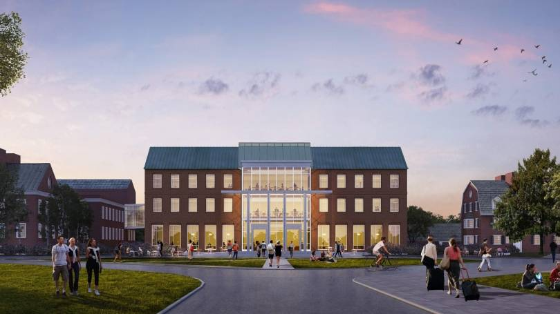 Rendering of new construction
