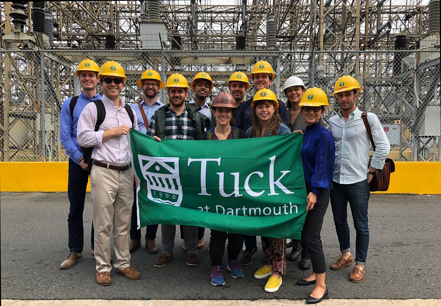 The Revers Center for Energy and its MBA fellows traveled to Puerto Rico to learn about its efforts to restore the electrical grid after Hurricane Maria.