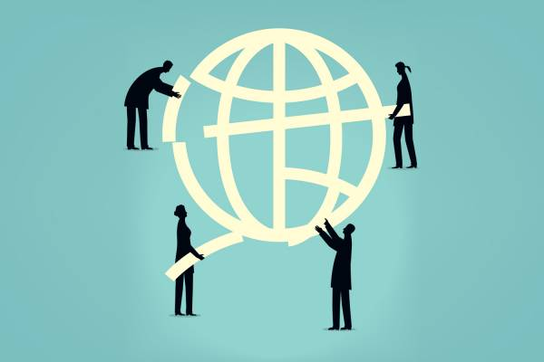 iStock image, global employment and economy