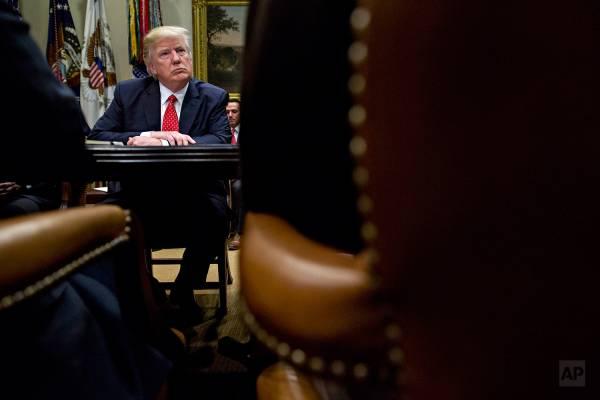 President Trump Roosevelt Room