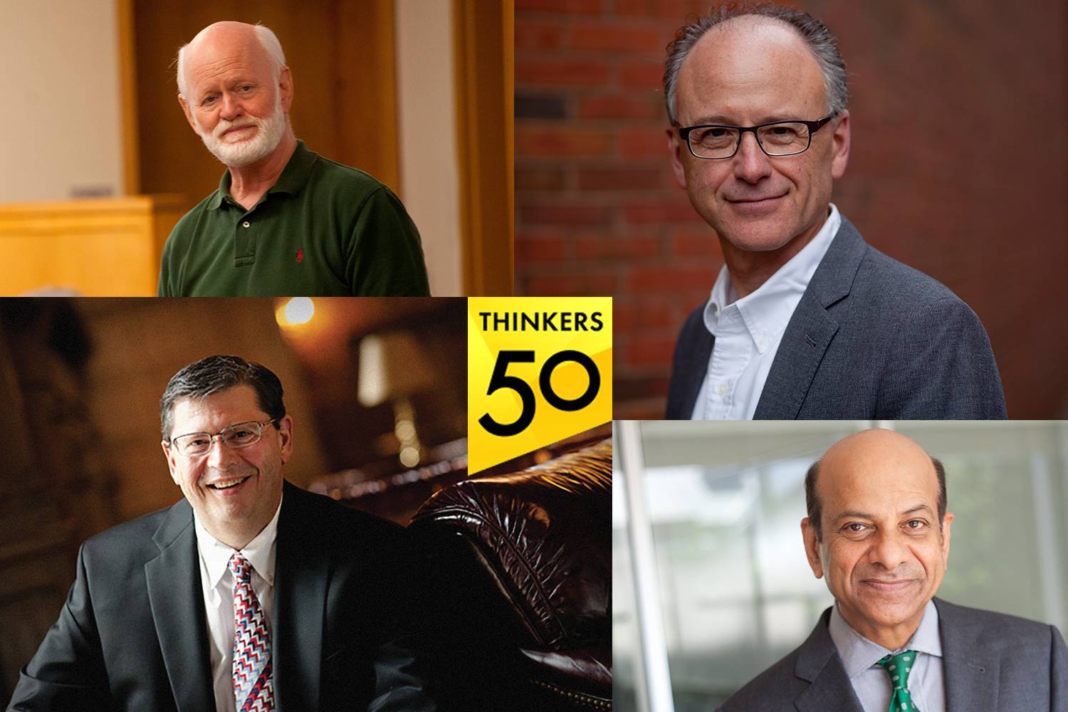 Thinkers50 recognized Tuck faculty,
