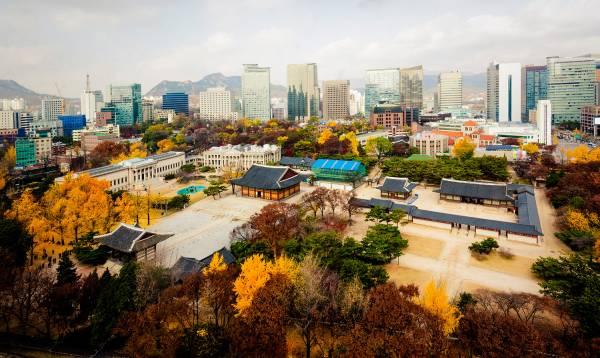 Seoul Deoksugung Panorama