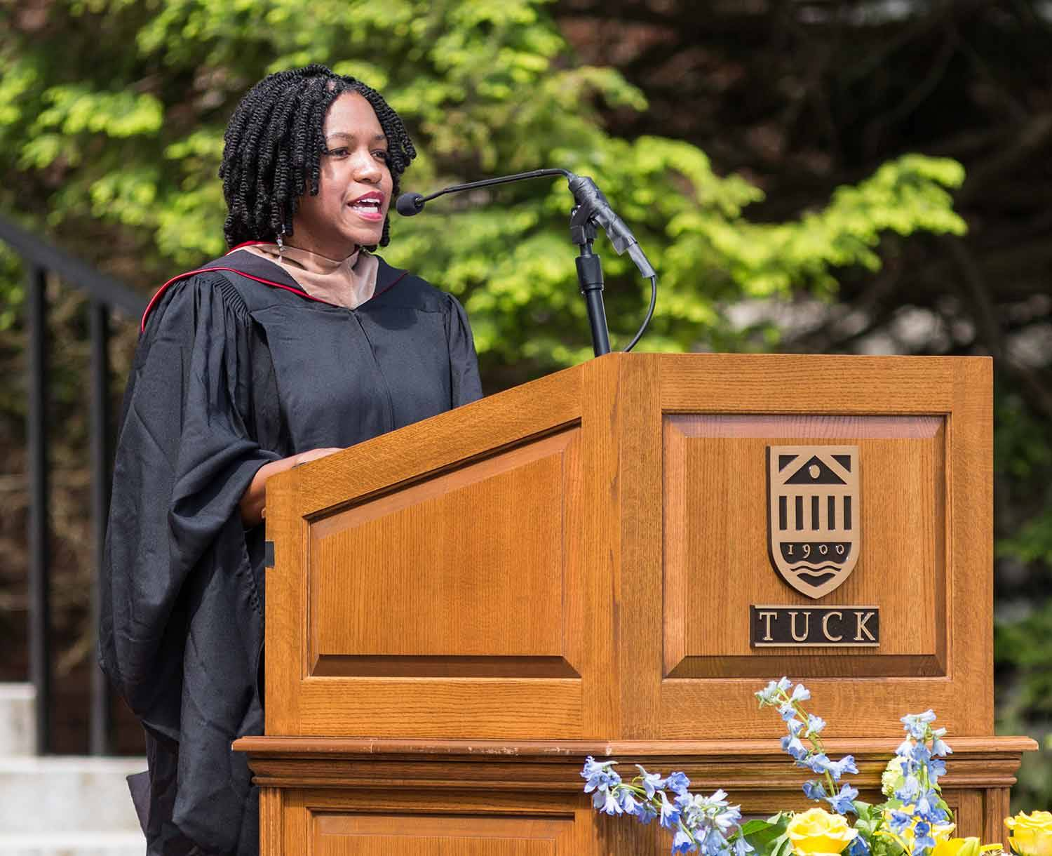Tuck Investiture Speaker, Stacy Brown-Philpot, CEO TaskRabbit