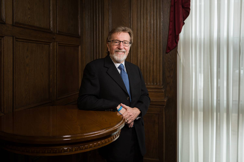 Tuck Professor Len Greenhalgh