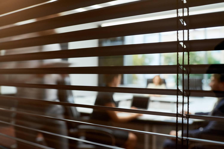 closed-door meeting