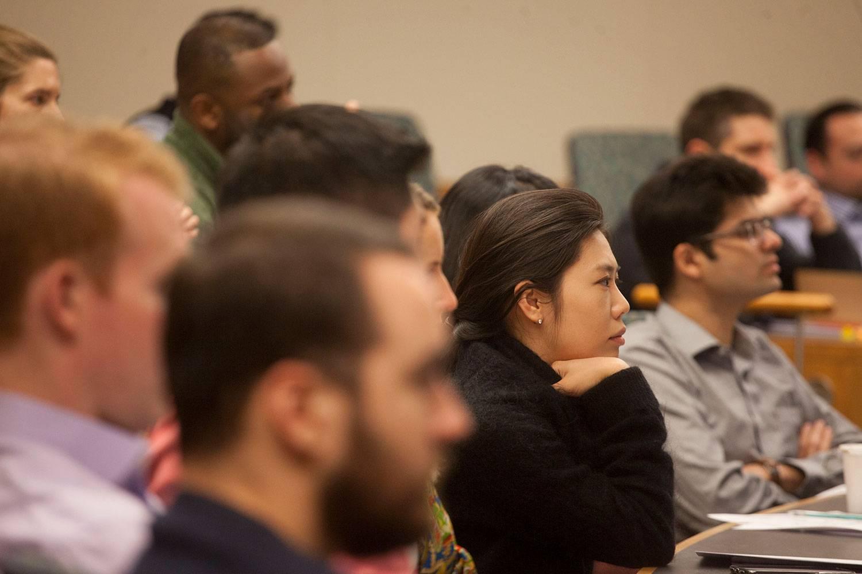 Tuck MBA classroom