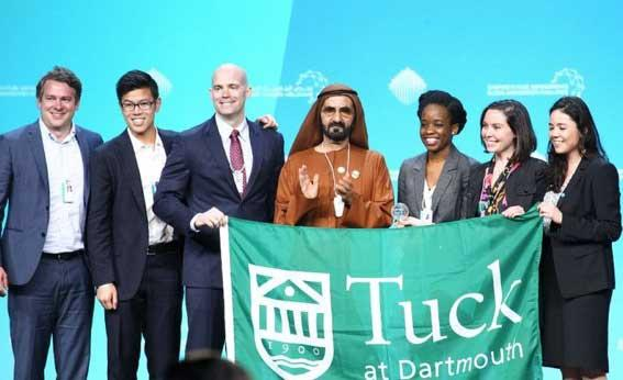 Tuck wins global universities challenge