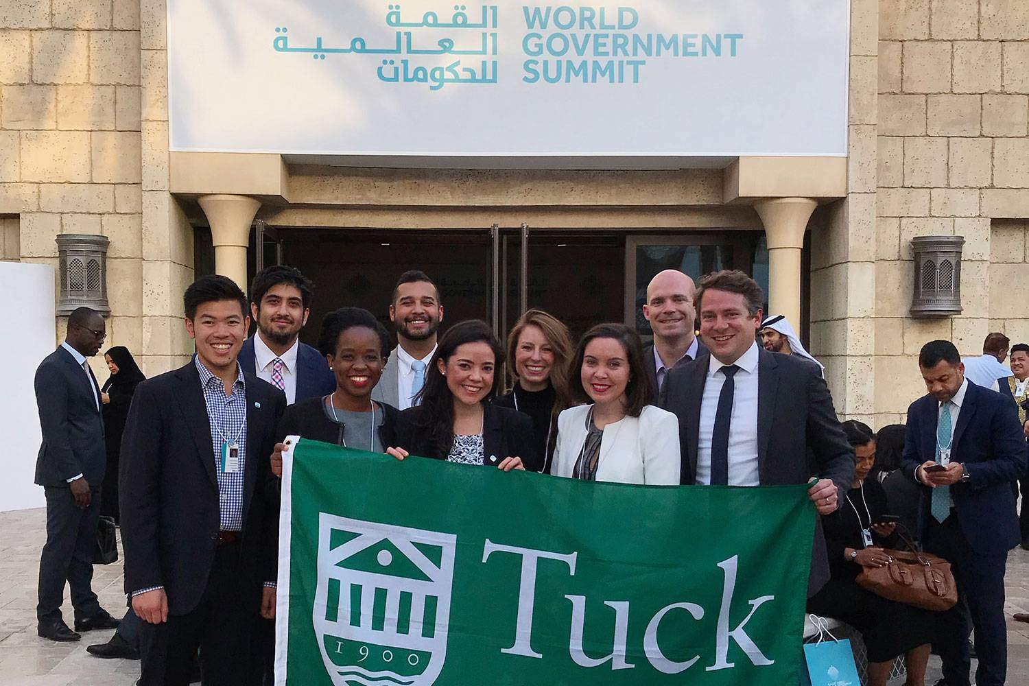 Tuck Team Wins Global Universities Challenge