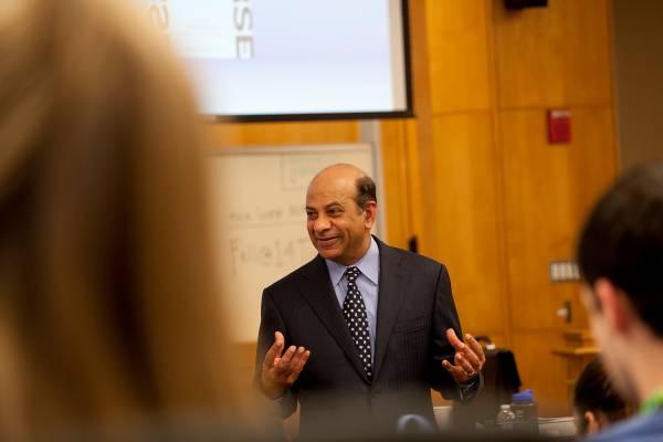 Vijay Govindarajan, the Coxe Distinguished Professor of Management at Tuck