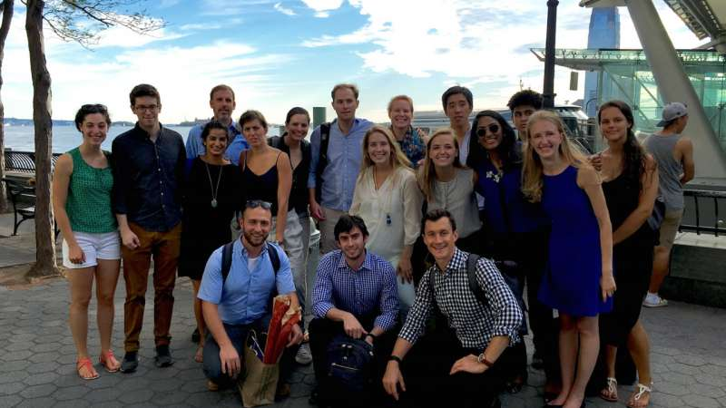 The Tuck 360 Blog | Interning at Bridgewater With One Hand