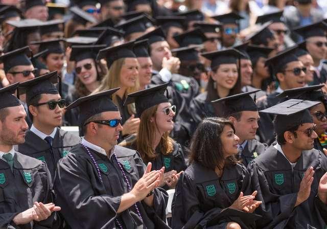 Tuck Investiture Ceremony Graduates