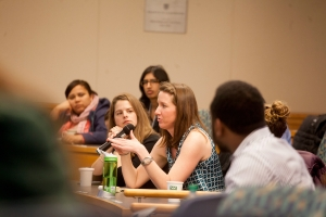 Walmart executive speaks to Tuck MBAs at the Business and Society Conference