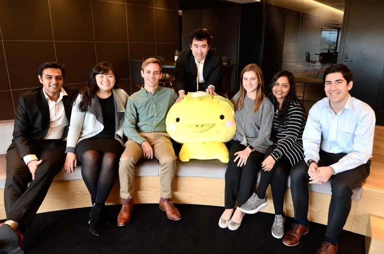 Tuck OnSite Global Consulting Team in Japan