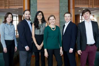 Tuck School of Business wins first place in the Venture Captial Investment Competition regional finals.