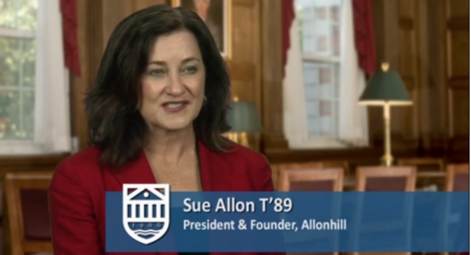 Tuck Entrepreneur In Residence program presents: Sue Allon T'89