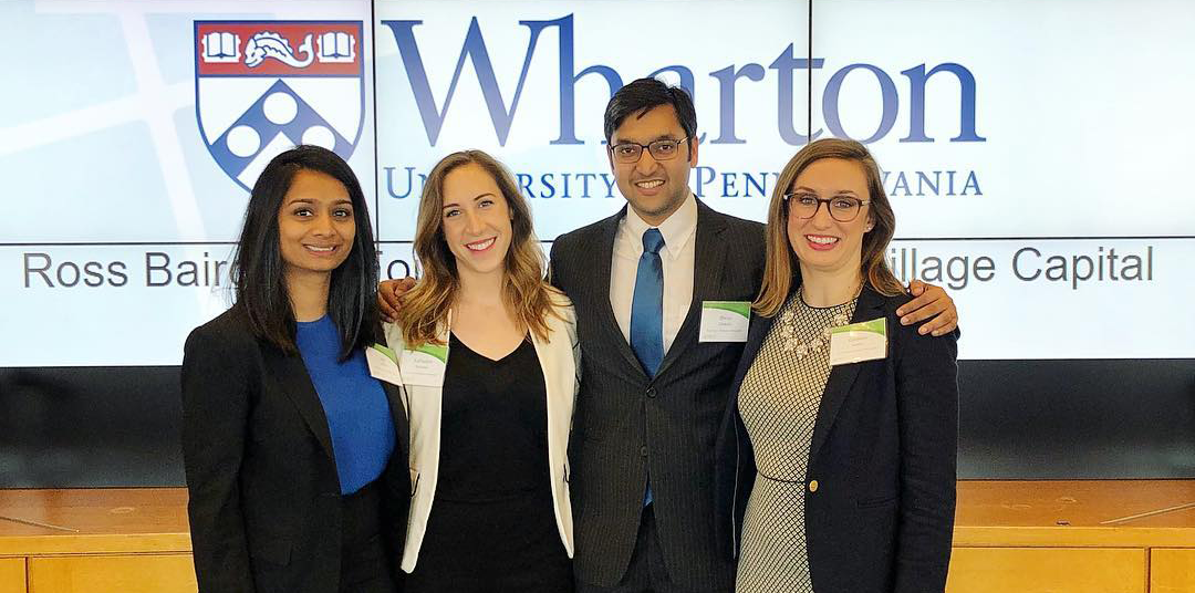 Tuck Competes at Wharton's MBA Impact Investing Network & Training Competition