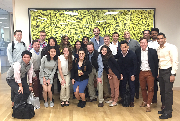 Tuck Students on Silicon Valley Career Trek