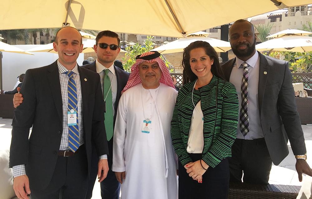 Tuck students at Abu Dhabi Energy Ministry