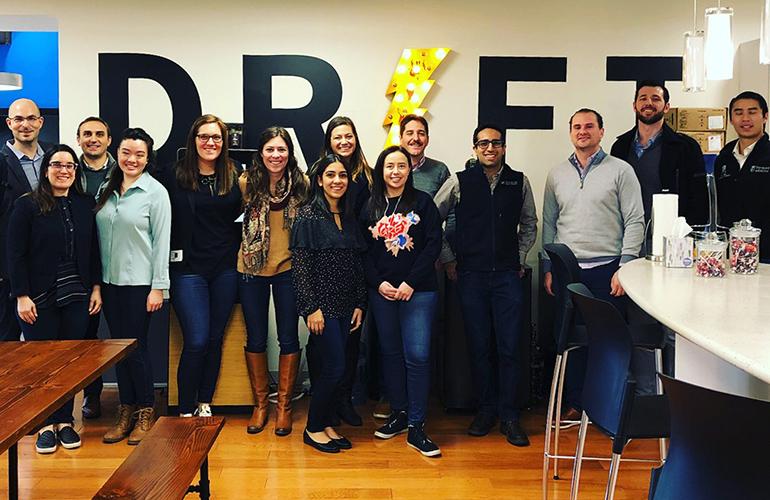 Tuck students visit Drift on career trek