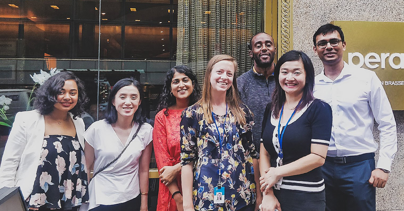 Tuck Students Interns in New York City
