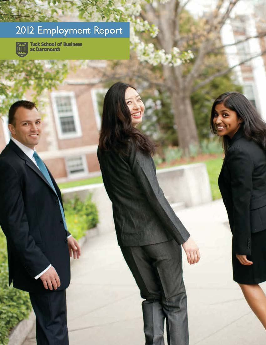 2012 MBA Employment Report
