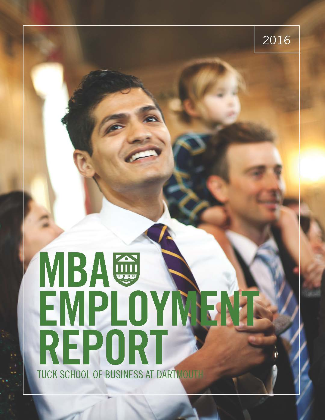 2016 MBA Employment Report