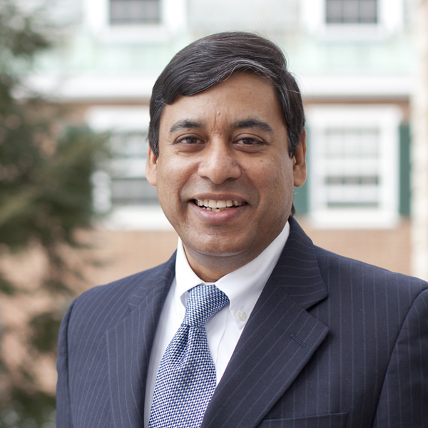 Anup Srivastava, associate professor of business administration and the Daniel R. Revers T'89 Faculty Fellow