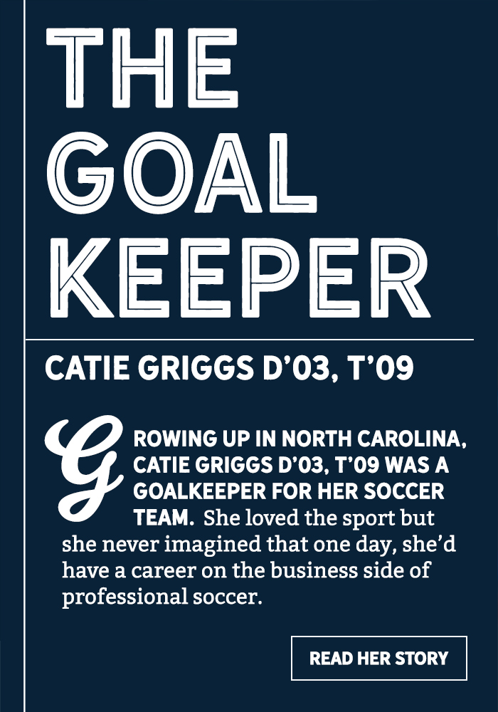 The Goal Keeper Title Tile