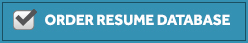 Order Resume Database